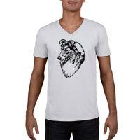 GILDAN® SOFTSTYLE® V-NECK T-SHIRT 64V00 Thumbnail